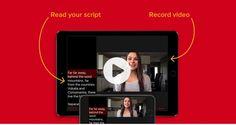 Video Teleprompter es una herramienta que te permitirá grabar video con la cámara frontal del móvil mientras realizas la lectura de un texto