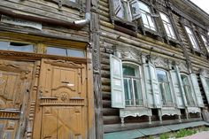 The striking wood lace architecture of Tomsk, Russia makes it a place worth wandering.