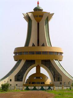 Place Memorial auz Heros Nationaux, Ouagadougou, Burkina Faso