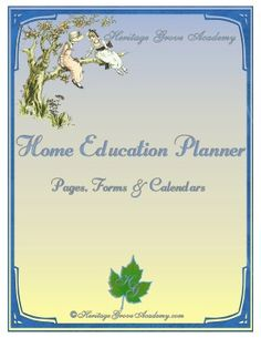Homeschool Planner for 2012-2013 - get it free until June 14 by liking our Facebook page!