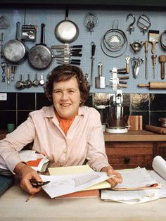 Julia Child    It's true: The way to a man's heart is through his stomach. If the trail happens to pass through the kitchen of an urbane, ebullient, bullshit-intolerant master of French cuisine — who also happened to serve in the OSS during the war — en route, well, now we're speaking the language of love.