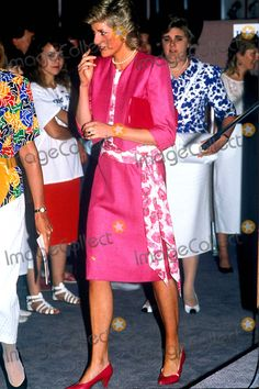 Princess Diana Australia Photo: Tim Anderson/alpha/Globe Photos Inc 1988 Princessdianaretro