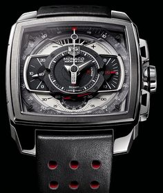 TAG HEUER MONACO MIKROGRAPH WATCH