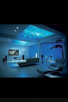 Fish tank above my bed?