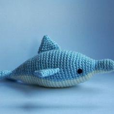 Patrón Delfín amigurumi
