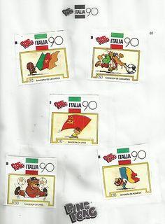 04- Álbum de Figurinhas Ping Pong - 1990
