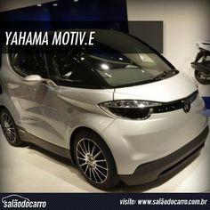 Yahama apresenta carro elétrico Motiv.e  » www.salaodocarro.com.br/previas/yahama-carro-eletrico-motive.html