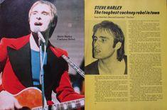 Steve Harley.  Magazine feature. Steve Harley, Columnist, Rebel, Joker, Magazine, In This Moment, Fictional Characters, The Joker, Magazines