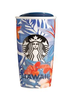 Pin for Later: 26 Gift-Worthy Items From the New Starbucks Local City Collection Hawaii Hawaii Traveler Mug ($23)