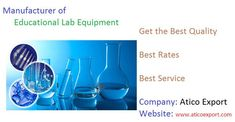 #Atico #Export is earning reputation as leading #Educational #Scientific #Laboratory  #Equipments #Manufacturers, Suppliers in India and other countries. Buy Brand New #High #Quality #Lab #Equipment online at low prices in India. Make a call at +91-999-618-6555