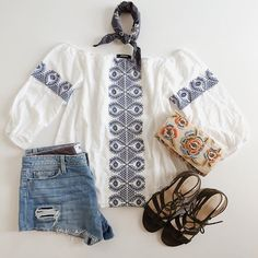 Bringing out our inner boho babe.