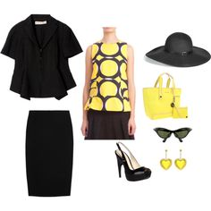 Love the yellow :-) floppy hat!!!