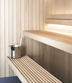 Tylö sauna room - Tips & inspiration - Products Sauna Steam Room, Steam Bath, Sauna Room, Saunas, Building A Sauna, Portable Sauna, Sauna Design, Glazed Walls, Spa Rooms