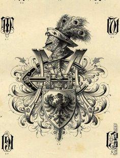 Старинные гербы