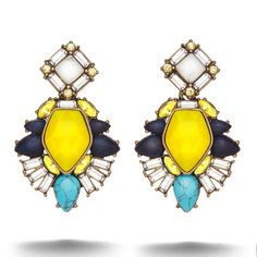 I LOVE these convertible Statement #Earrings from the Limoncello Collection! Perfect accessory for the #Summer!