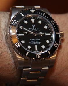 Rolex Submariner No Date 114060 watch