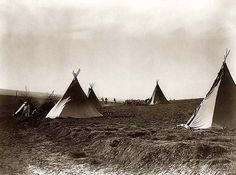 A historic image of Indian Tipis at Camp on Stony Lake. It was taken in 1905 by Edward S. Curtis.  This is an excellent view of traditional Apache Dwellings.
