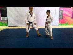 Materi Latihan Sabuk Kuning Taekwondo, Geup 9 ~ DEMOS Martial ARTS School