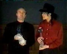 Michael Jackson and Phil Collins.