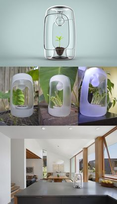 Designed to mimic a delicate natural #environment, the #Grow #Pod's unique shape…