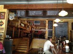 Blue Monk Inside - Cool European Style Restaurant + Bar #Buffalo