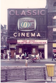 Classic Cinema, Fitzalan Square, Sheffield, May 1982 Cinema Sign, Cinema Theatre, Movie Theater, South Yorkshire, Yorkshire England, Sheffield City, Sheffield Steel, Sheffield England, Nostalgic Images
