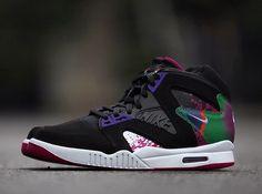 Nike Air Tech Challenge Hybrid - Black - White - Rave Pink - Varsity Purple - SneakerNews.com
