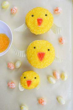 Easy Easter Chickadee Cupcakes Recipe - Homemade Charlotte
