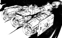 Gavin Rothery - Directing - Concept - VFX - Gavin Rothery Blog - Spaceships that became other spaceships #1: The MillenniumFalcon