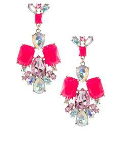 SO summer-ISH! Think pink! ASOS Summer Doorknocker Earring $25.46
