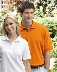 Super soft cotton and a vast choice of colors and sizes make this a favorite at work and at play.