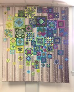 One of the stunning quilts on display at the #saskatchewanstitches conference. I want this! #quilt #artquilt #gypsywife