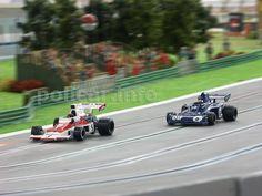 Slot car Polistil McLaren M23, Slot car Polistil Tyrrell 006