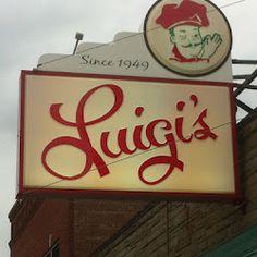 Luigi's!!!! Say no more! Akron Ohio