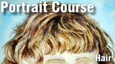 How to Paint Hair in Watercolour - Online Art Lessons Art Lessons Online, Online Art Classes, Watercolour Hair, Watercolor Paintings, Basket Tv, Painted Baskets, Abstract Animals, Hair Painting, Book Art