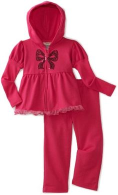 Carters Baby-Girls Infant Fleece Active Set With Sequin Bow
