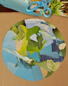 Kids can put old magazines and unwanted clothing to good use by creating an Earth Day-themed multimedia collage in this eco-friendly arts and crafts activity.