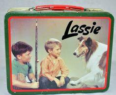 Lunch Boxes | ... / Vintage Lunch Boxes / Vintage Lassie Reproduction Tin Lunch Box