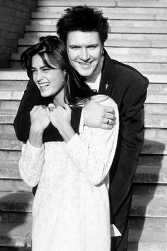 Yasmeen and Simon LeBon Model Weddings - December 27 1985 -