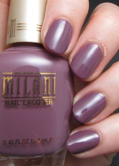 Milani Cosmetics Color: Heather, I just picked this up from Walgreen yesterday gorgeous color