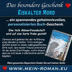 EISKALTER MORD … OHNE SPUREN. Ein spannender personalisierter Roman für den Mann. Mehr unter: http://www.mein-roman.eu/