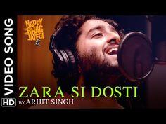 Zara Si Dosti Official Video Song   Happy Bhag Jayegi   Arijit Singh   Diana, Abhay, Ali - YouTube