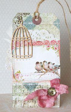 Pretty Birdie Tag...