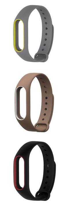 [Visit to Buy] NEW Best Price ! Fashion Original Silicon Wrist Strap WristBand Bracelet Replacement For xiaomi mi band 2 2jun18 #Advertisement