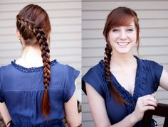 For those of us still trying to master the Katniss braid .... 101 Braid Hairstyles You Need to Know | StyleCaster
