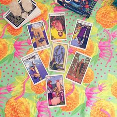 Playing around with the Biz Tarot Spread for spiritual business owners by Vix at New Age Hipster.