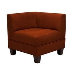 Shop for Makenzie Crimson Corner Chair. Get free shipping at Overstock.com - Your Online Furniture Outlet Store! Get 5% in rewards with Club O!