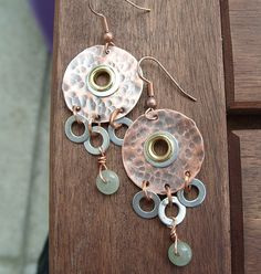 Copper, Washers and Aventurine