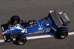 Jean Pierre Jarier (FRA) Ligier JS 21 Ford Cosworth