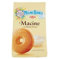 Mulino Bianco Biscotti Frollini Macine mit frischer Sahne, 350 gr. Alles Gute, was du hörst. Nur frische Eier von Hühnern auf dem Boden. Wei - www.tuttishop.ch